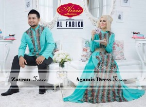 model Baju Muslim, Trendy, Gaun-Pesta-Muslim-Agamis-Dress-Dan-Koko-Zavran-Tosca