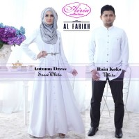 baju pesta wanita modern Gaun-Pesta-Muslim-Autumn-Dress-Dan-Rain-Koko-Snow-White