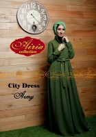 baju muslim modern terbaru Gaun-Pesta-Muslim-City-Dress-by-Airia-Army