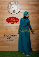 baju pesta hijab modern Gaun-Pesta-Muslim-City-Dress-by-Airia-Tosca