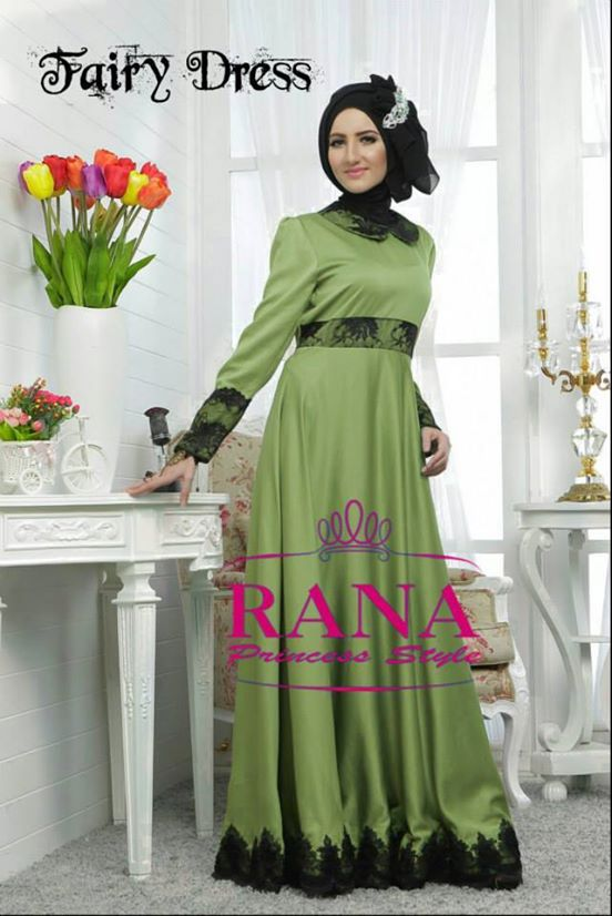 Baju Pesta Modern Gaun Pesta Muslim Fairy Dress By Rana
