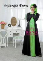model baju pesta muslim elegan Gaun-Pesta-Muslim--Miserable-by-Rana-Hijau-Alpukat