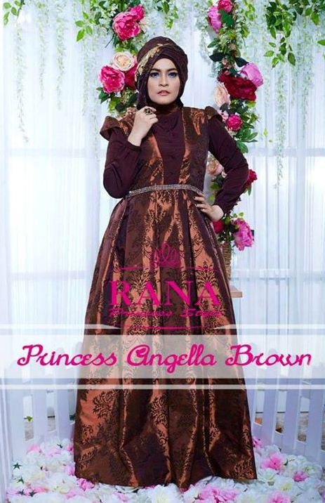 Model Gaun Pesta Yang Elegan Gaun Pesta Muslim Princess