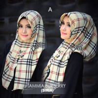 Hijab terbaru burberry by flow A