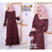 gamis anak muda Lashira dress by balimo collection B