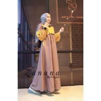 gamis anak muda zanana dress by gagil milo