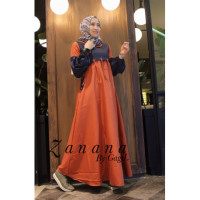 gamis anak muda zanana dress by gagil terracota