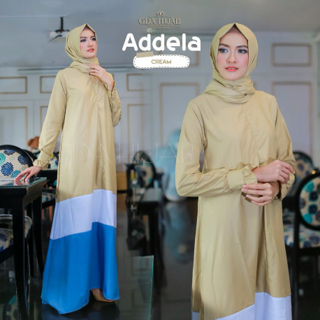Addela Dress Yellow