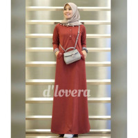 Orlin Dress Maroon