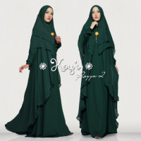 Rayya Syari 2 Green Bottle