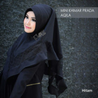 mini-khimar-prada-aqila black