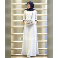 orlin dress by dlovera white