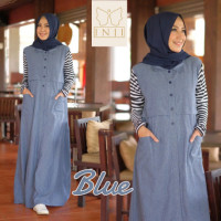 Alya Dress Blue