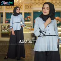 Azka Set Grey Black