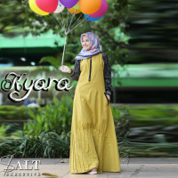 Kyara Dress Yellow