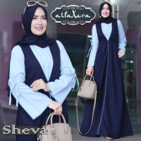 Sheva Dress Navy