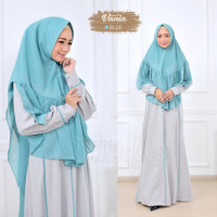 Vania Set Syari Blue