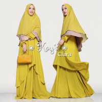 clara syari yellow