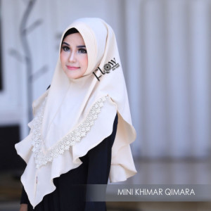 Mini Khimar Qimara Cream