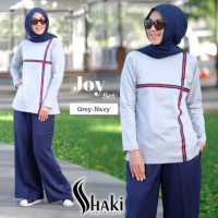 Joy Casual Grey Navy