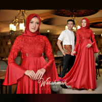 Warahmah Couple Red
