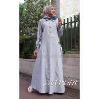 Catrina Dress Grey