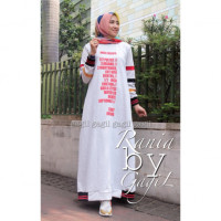 Rania Dress White