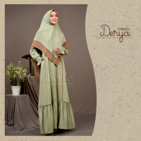 Derya Dress Green