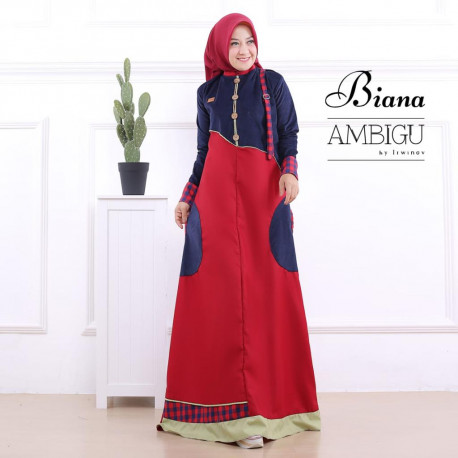 Biana Dress Navy