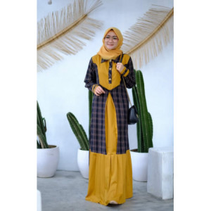 Hayza Dress Yellow
