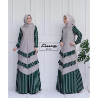 Keizi Dress Hijau