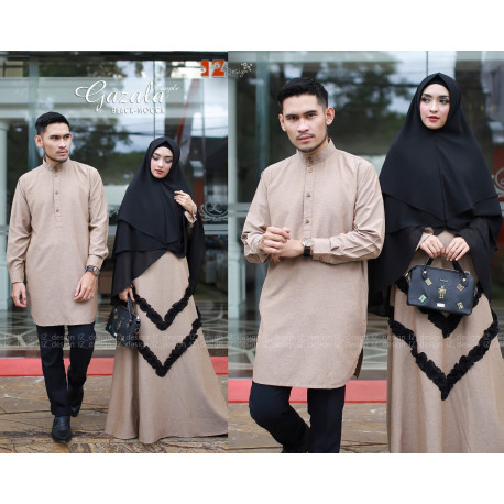 Gazala Couple Black Mocca