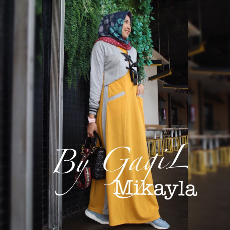 Mikayla Dress Yellow