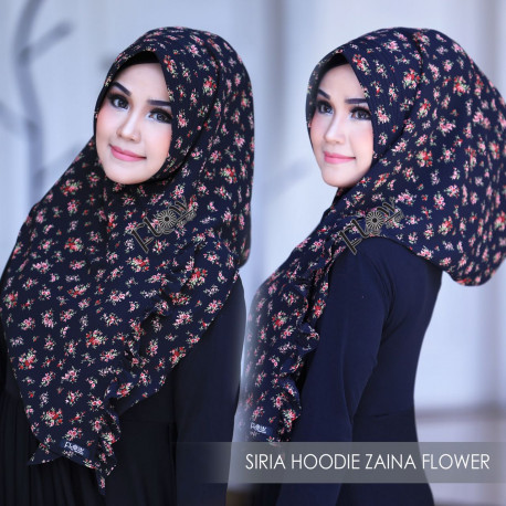 Siria Zaina Flower Black