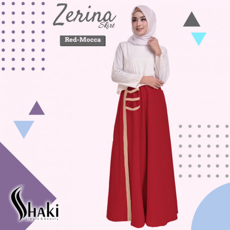 Zerina Skirt Red Mocca