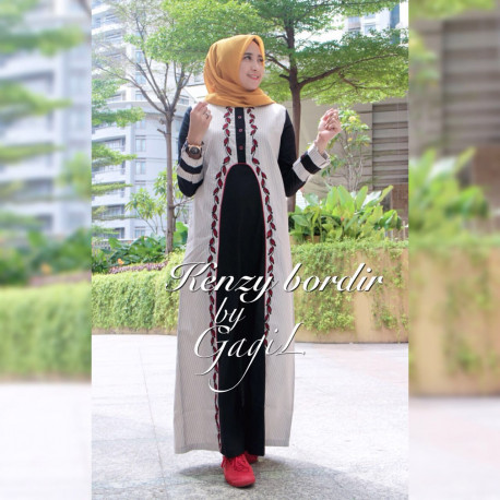 Kenzy Dress Brokenwhite