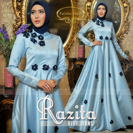 Razita Dress Blue