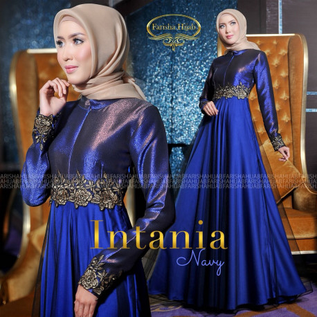 Intania Dress Blue