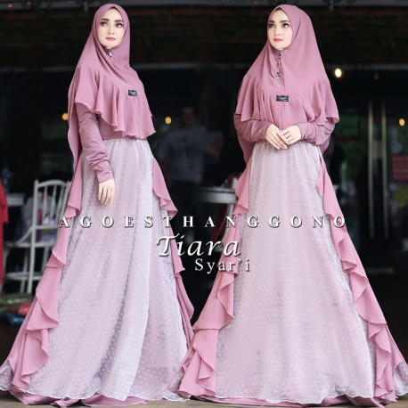 Tiara Syari Purple