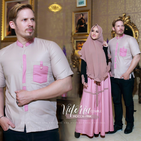 Victoria Couple Mocca Pink