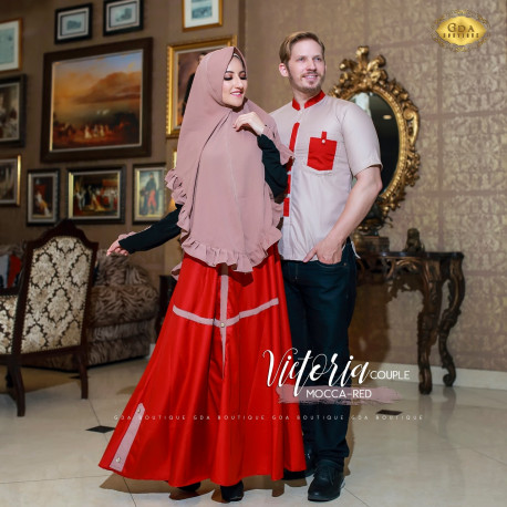 Victoria Couple Mocca Red
