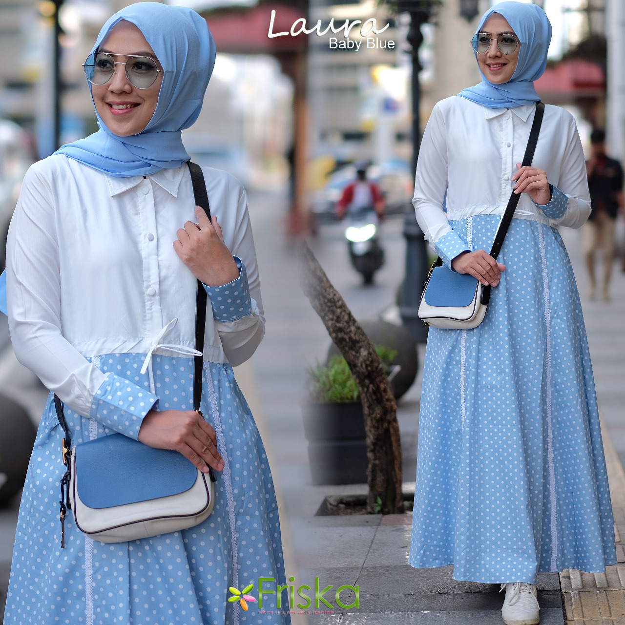 Laura By Friska Baby Blue