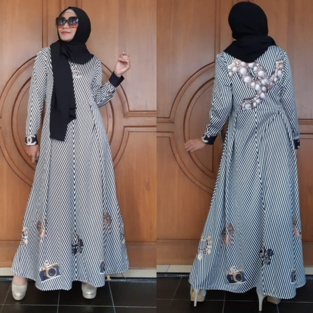 Gamis Chanel White