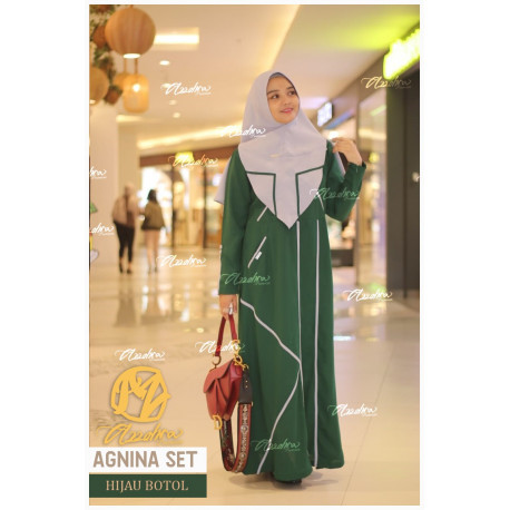 Agnina Green Bottle