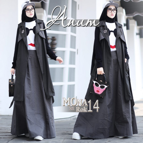 Mona Set Dark Grey