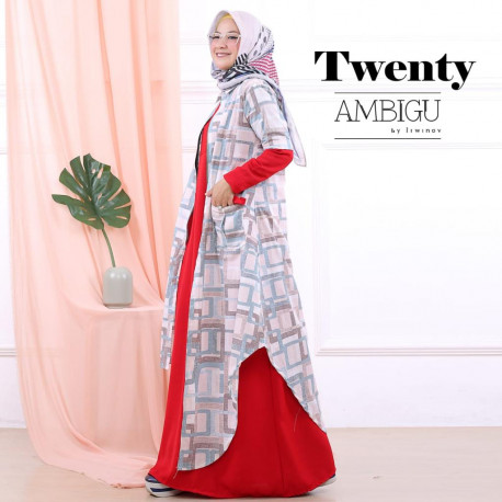 Twenty Two Pieces Red