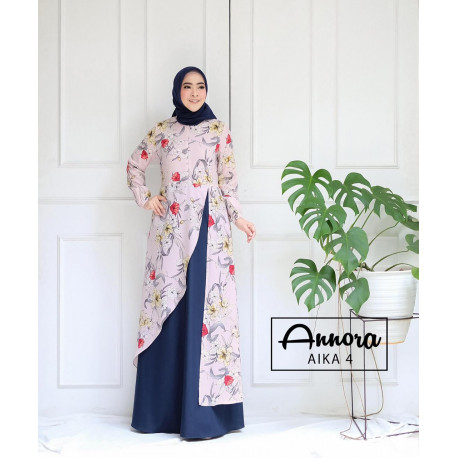 Aika Dress 4 Navy