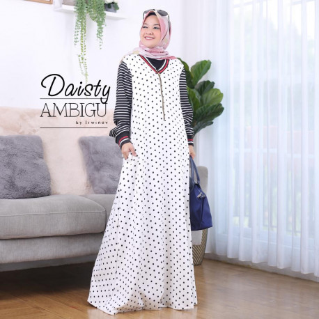 Daisty Dress White