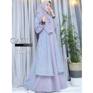 Hawra Dress Grey