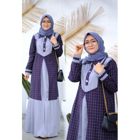 Hayza Dress Purple